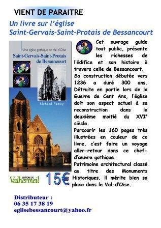 Premier ouvrage sur l'église de Bessancourt