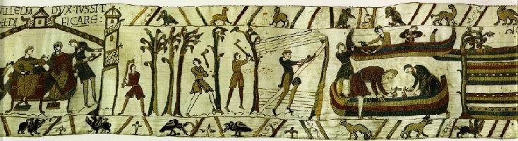 défrichement de la forêt de Bayeux