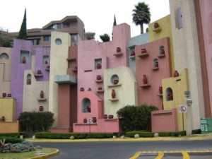 Architecture mexicaine moderne.