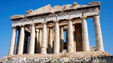 Le Parthénon, Athènes, Grèce.(Grèce antique).
