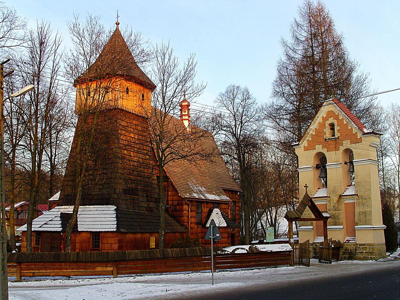 Église Saint-Michel-Archange, Binarowa