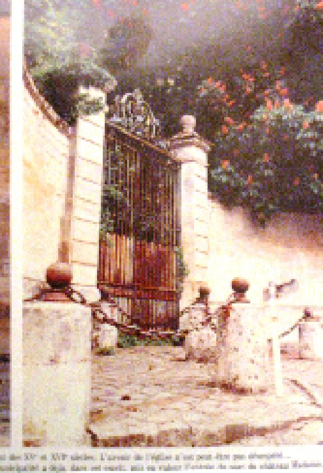 Portail du Château Madame