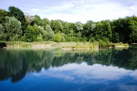 Lac Bleu de la Forêt de Carnelle