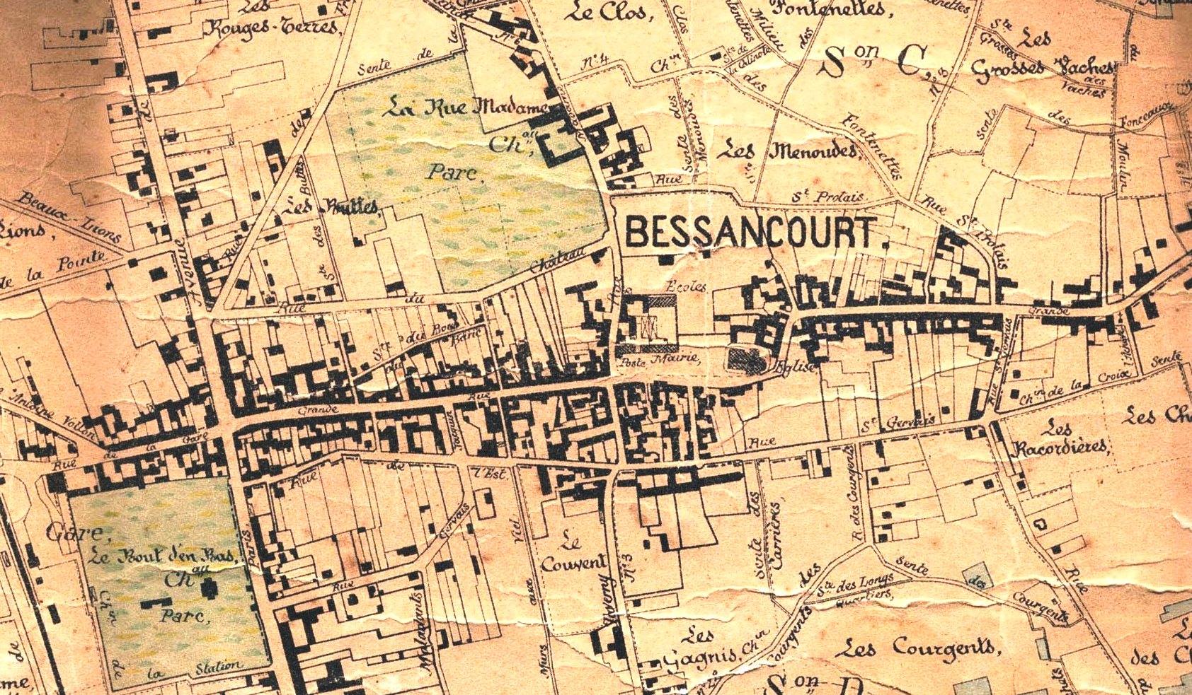 Bessancourt au 19eme siècle